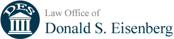 Law Office of Donald S. Eisenberg Header Logo